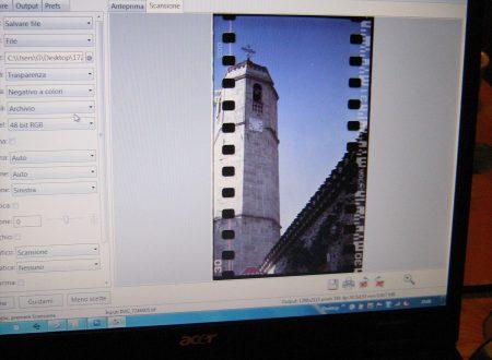 Costruire uno scanner per pellicola