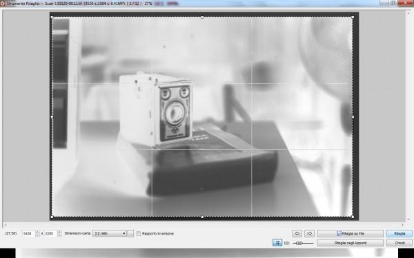 Ritaglio bordi scansione con Fastone Image Viewer