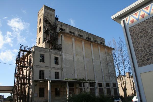 I silos di raccolta dei cereali