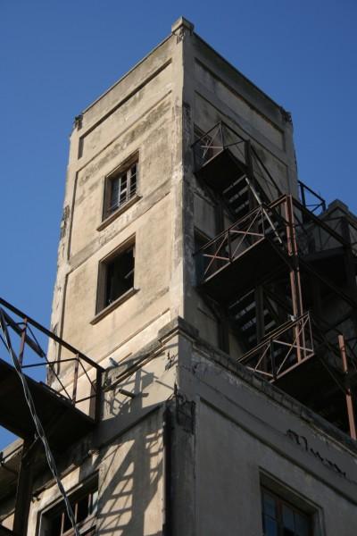 Altro particolare del silos