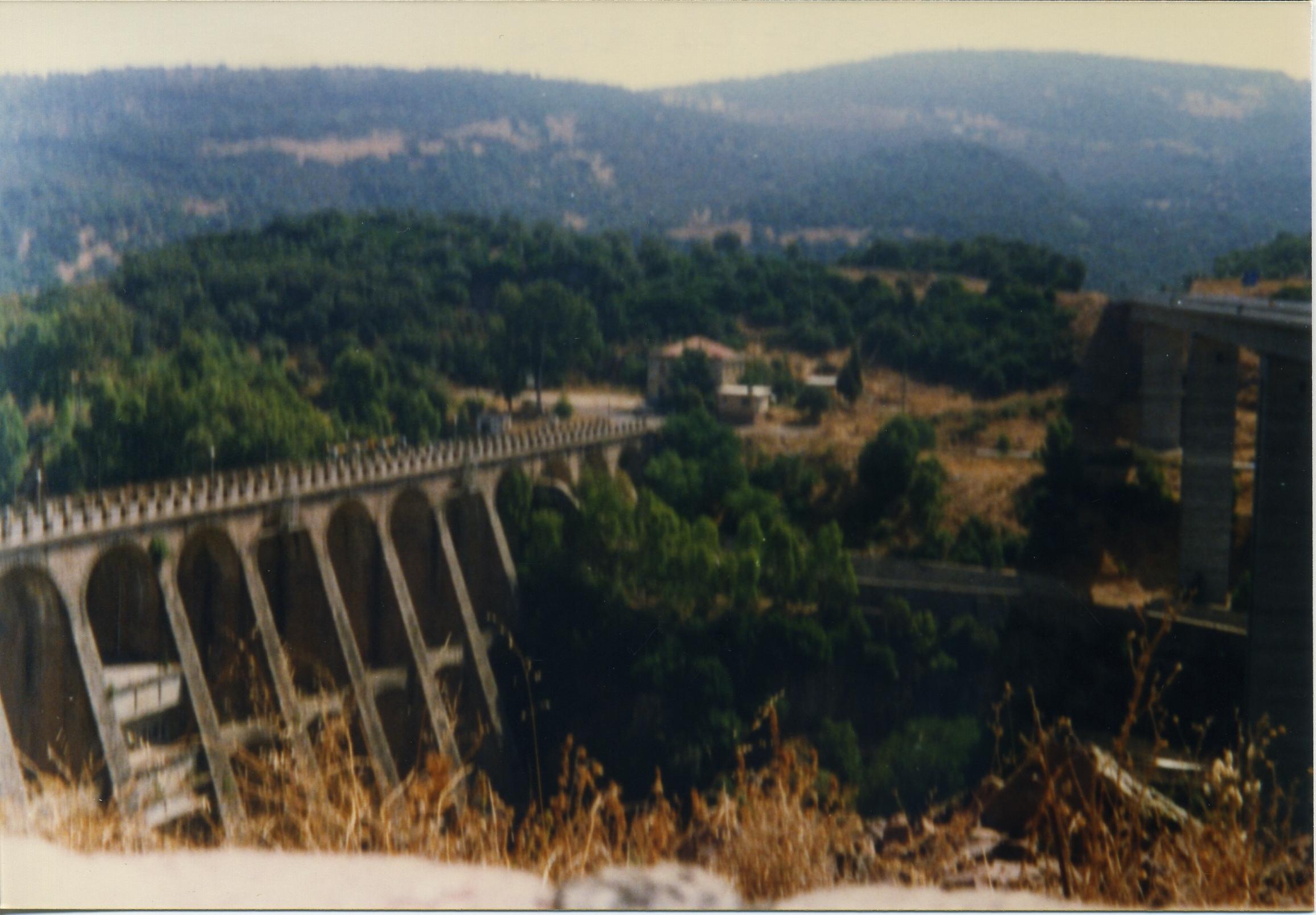 Settembre 1999 - La vecchia diga Omodeo