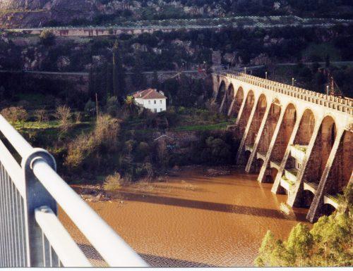 La diga di Busachi: ieri e oggi