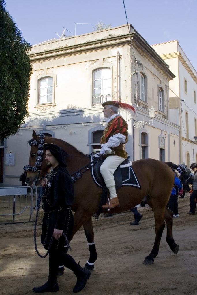 L'araldo sul suo cavallo