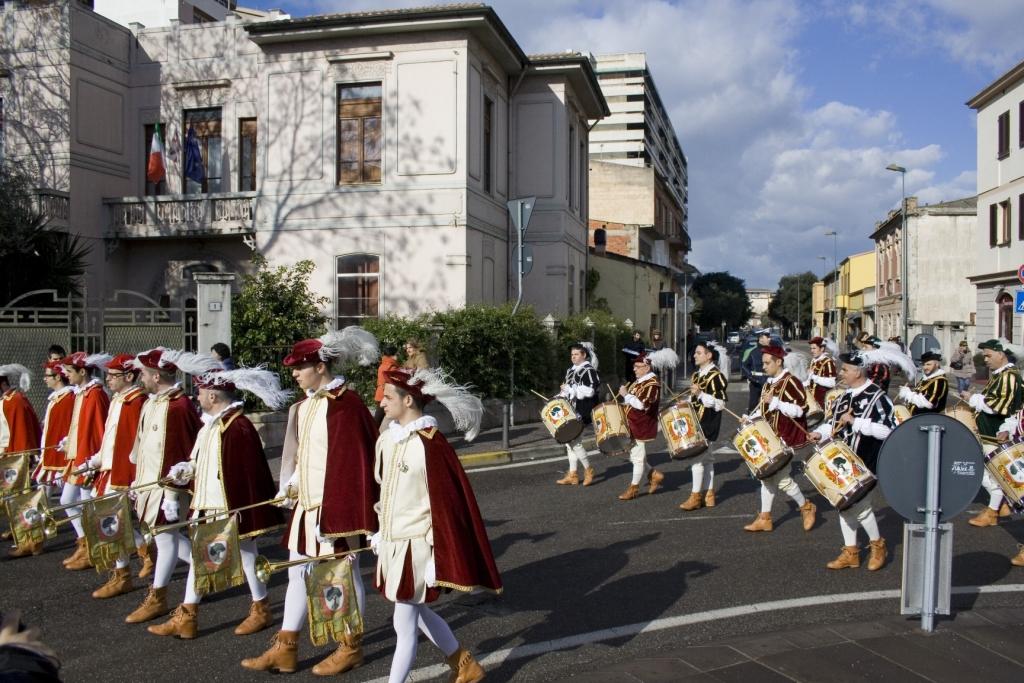 Il percorso sulla via Cagliari