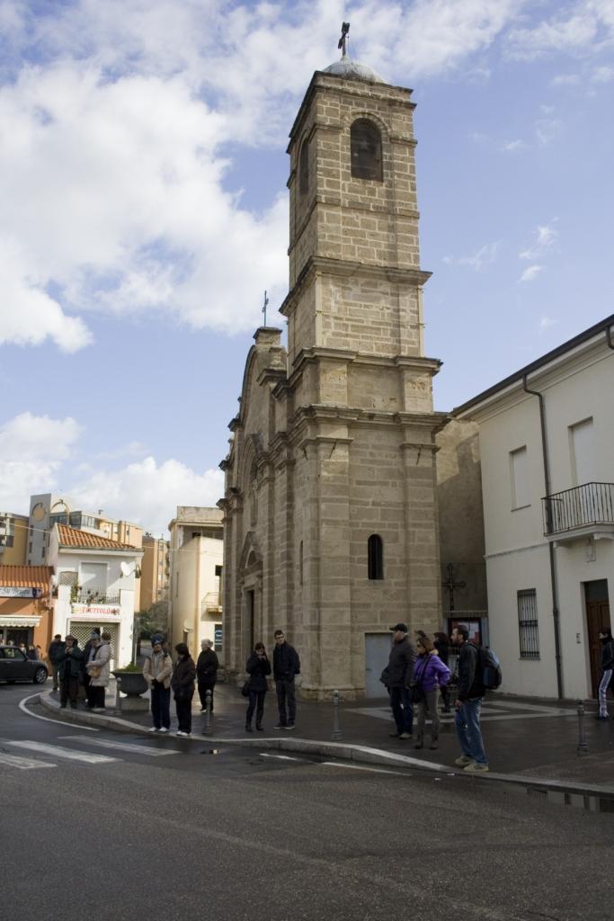 La chiesa di piazza Sant'Efisio