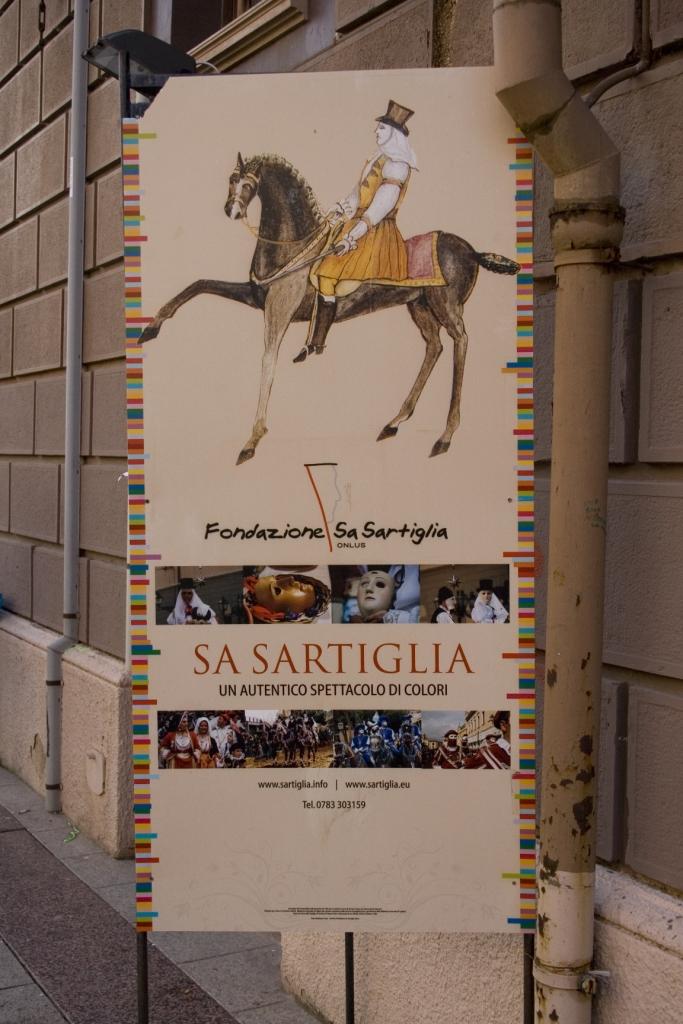 """Manifesto della """"Fondazione Sa sartiglia"""""""