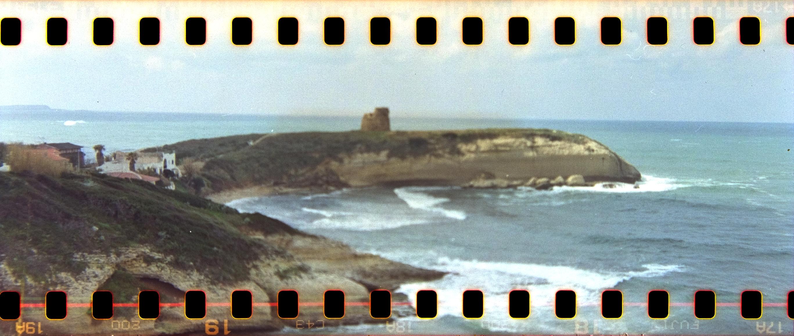 Torre del Pozzo - la baia con la torre