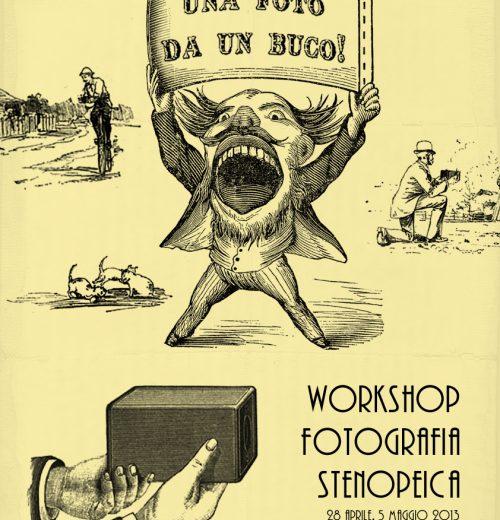 Avviso workshop: fotografia stenopeica