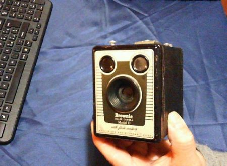 Fotocamera Brownie Six-20D