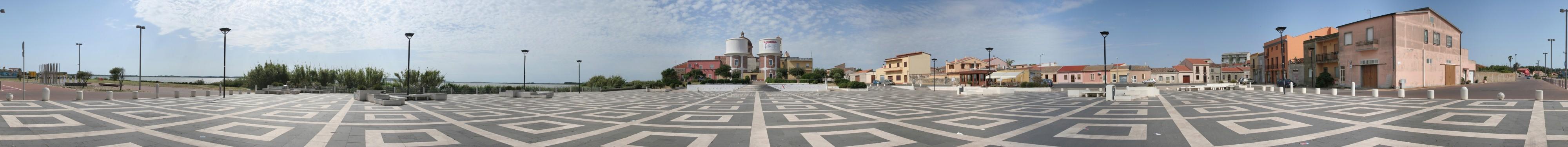 2013-06-08 - Panoramica Cabras - Piazza Stagno- Panorama - copyr (Custom)