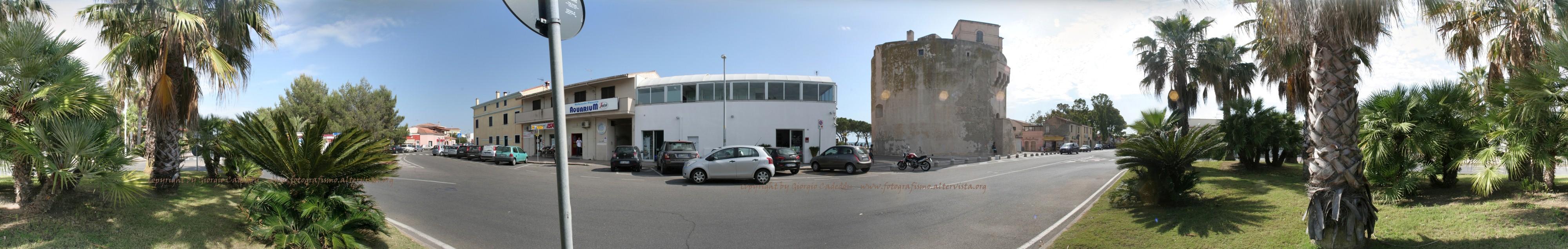 2013-06-08 - Panoramica Torregrande- La torre - Panorama-copyr copia (Custom)