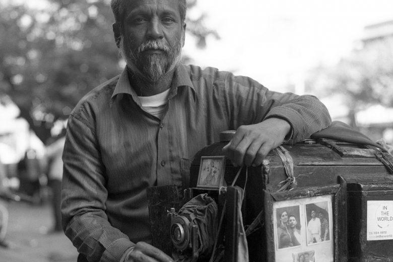 Fotografo professionale indiano