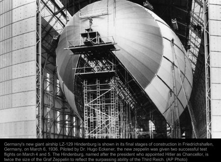 The german Zeppelin Hindenburg – part I