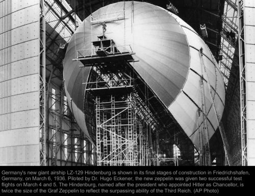 The german Zeppelin Hindenburg – part I
