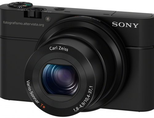 Sony RX 100 – Compatta prosumer