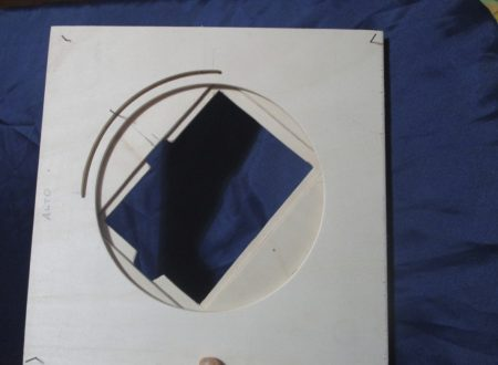 """""""Sardinian Camera"""" – Prova con vetro di m.a.f. e carta"""