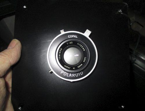 Sardinian Camera – Piastra portaobiettivo