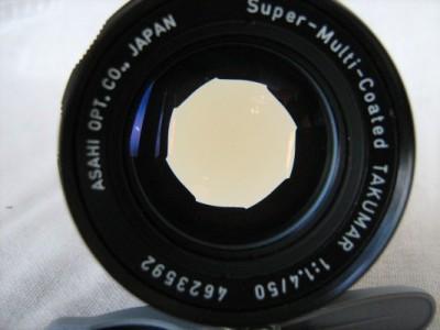 Pentax Supertakumar 50-1,4 - 1