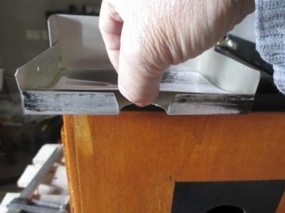 Realizzazione fresatura per il dito... eco come si usa.
