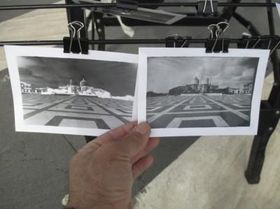 Le foto della piazza