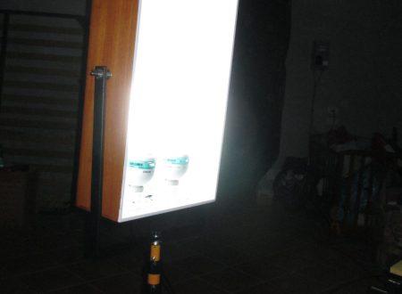Costruire illuminatore fotografico