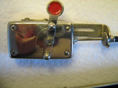 4 - Otturatore meccanico a cavo