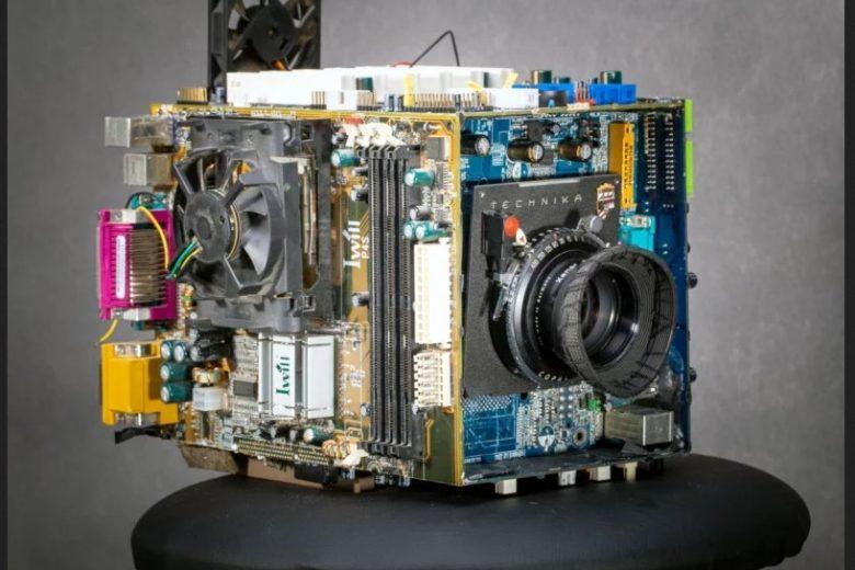 Da computer rotto a fotocamera